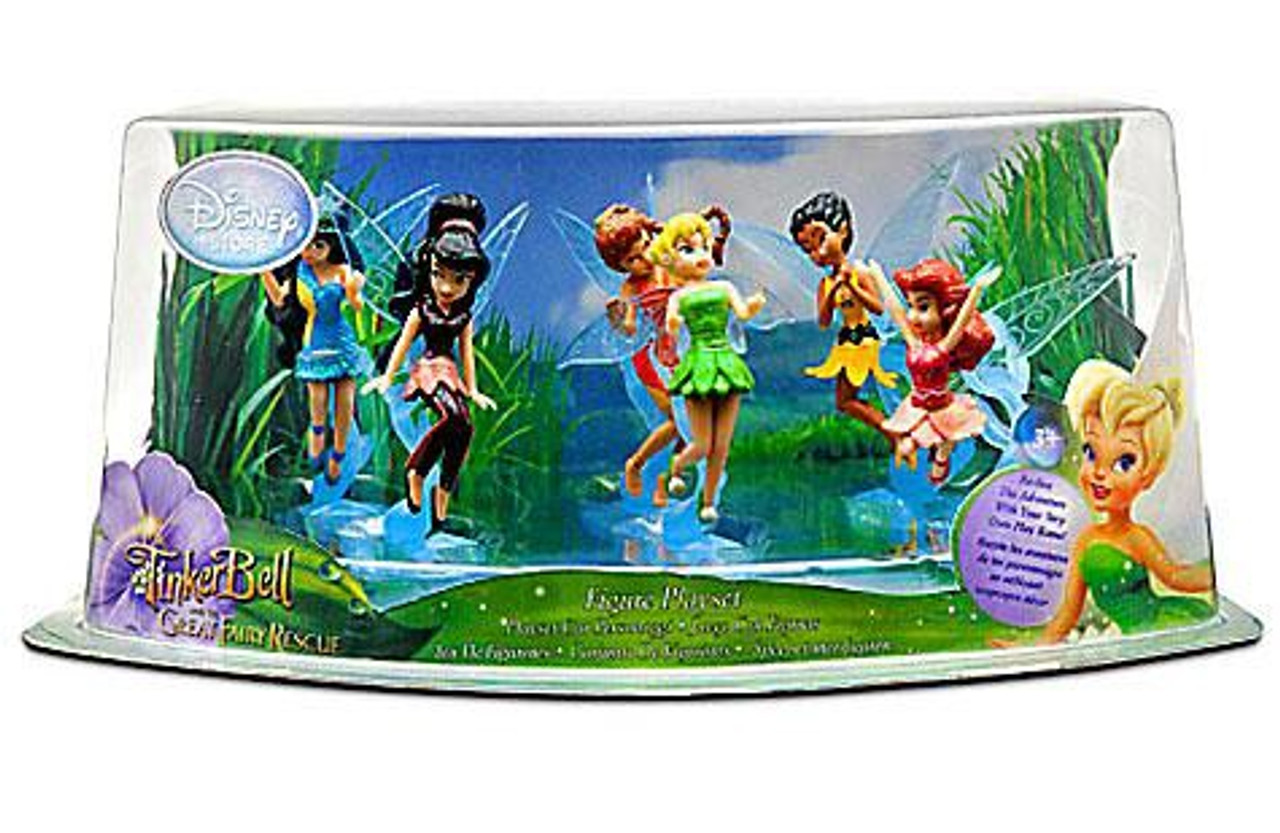 Disney Fairies Tinker Bell & The Great Fairy Rescue Figurine Playset Exclusive