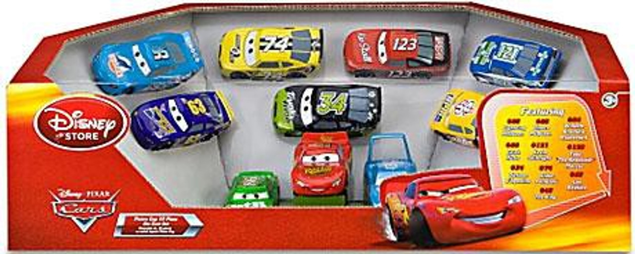 Disney Cars 1:48 Multi-Packs Piston Cup Exclusive Diecast Car Set