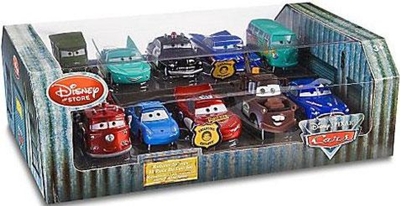 Disney Cars 1:48 Multi-Packs Radiator Springs Exclusive Diecast Car Set
