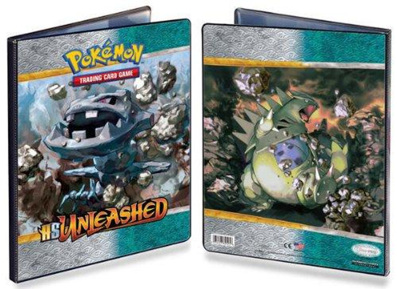 Ultra Pro Pokemon HeartGold & Soulsilver Unleashed Steelix 9-Pocket Binder