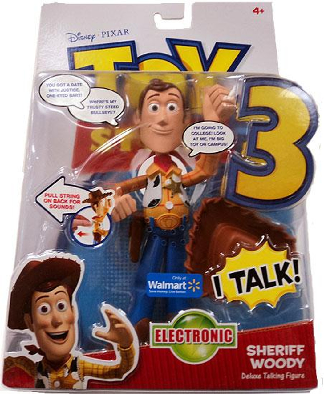 Toy Story 3 Electronic Talking Woody Exclusive Action Figure [Sheriff]