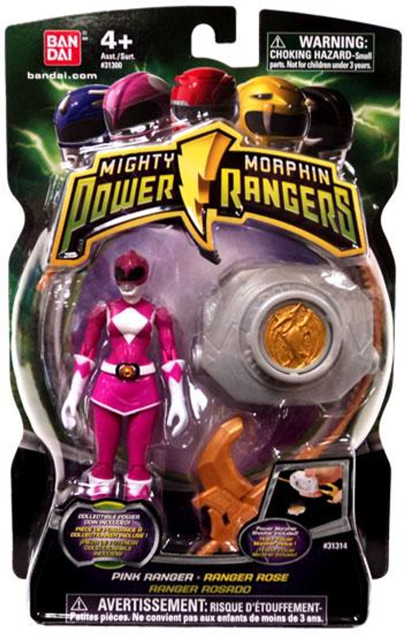 Power Rangers Mighty Morphin 2010 Pink Ranger Action Figure
