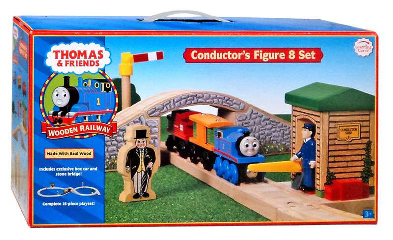 Thomas & Friends Wooden Railway Conductor's Figure 8 Set Track Set