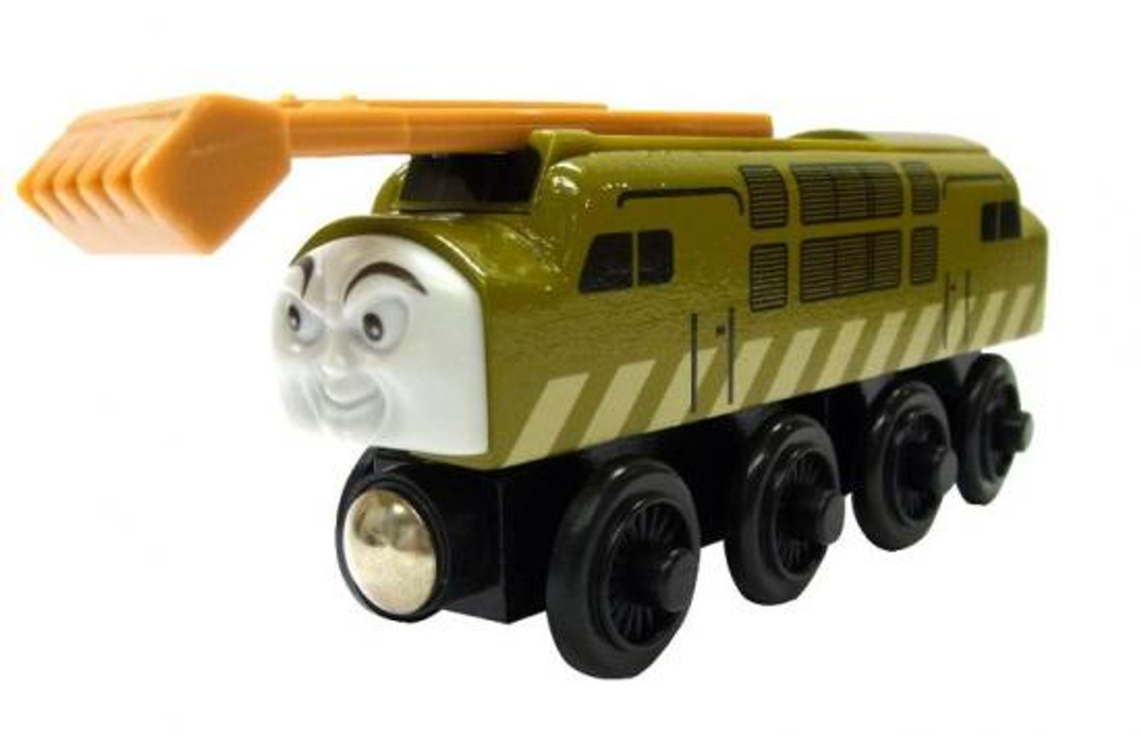 Thomas & Friends Wooden Railway Diesel 10 Train Figure