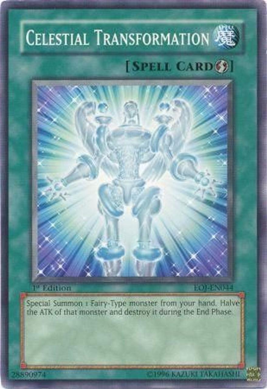 YuGiOh GX Enemy of Justice Common Celestial Transformation EOJ-EN044