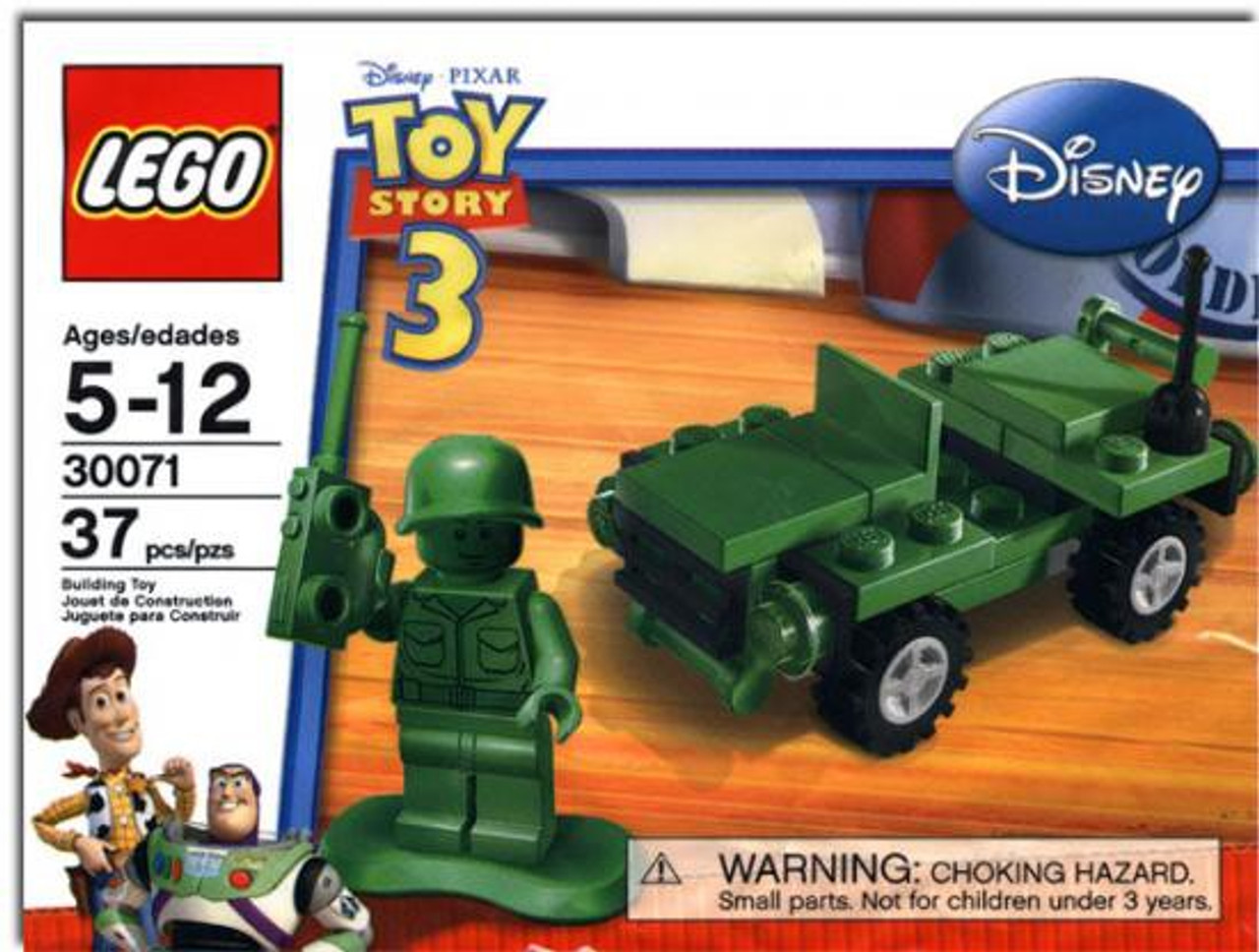 LEGO Toy Story 3 Army Jeep with Soldier Mini Set #30071 [Bagged]