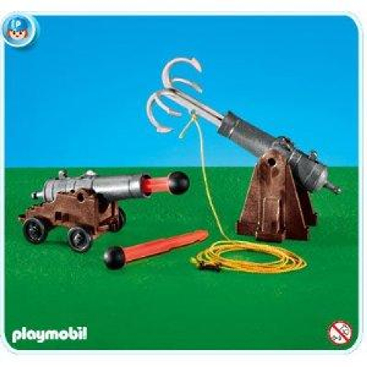 Playmobil Pirates Cannons for Pirate Ship Set #7373