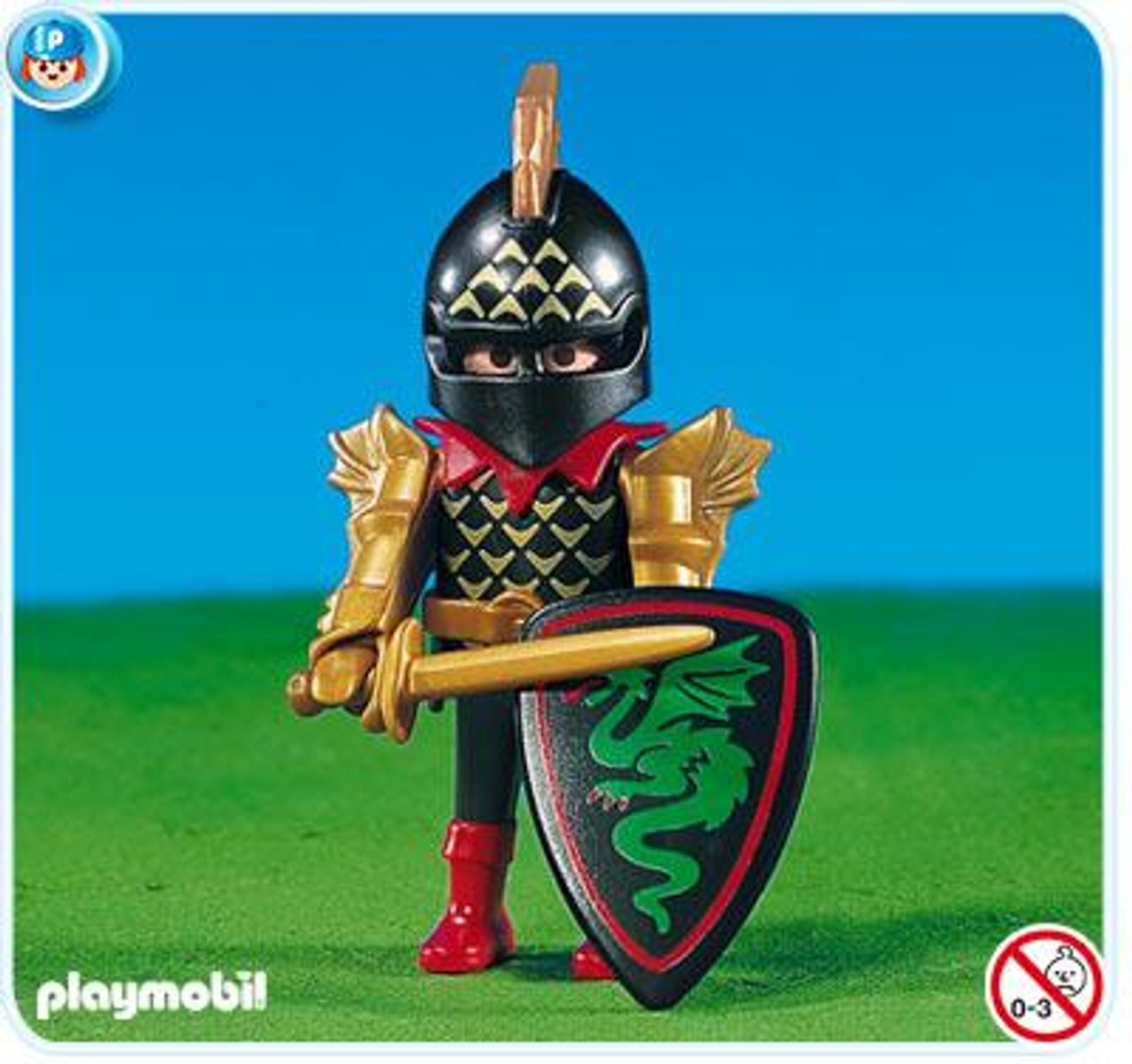 Playmobil Dragon Land Green Dragon Leader Set #7670