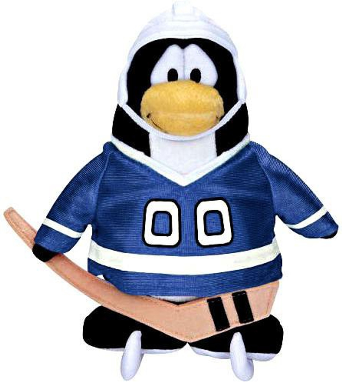 Club Penguin Series 11 Hockey Player 6.5-Inch Plush Figure [Blue Jersey]