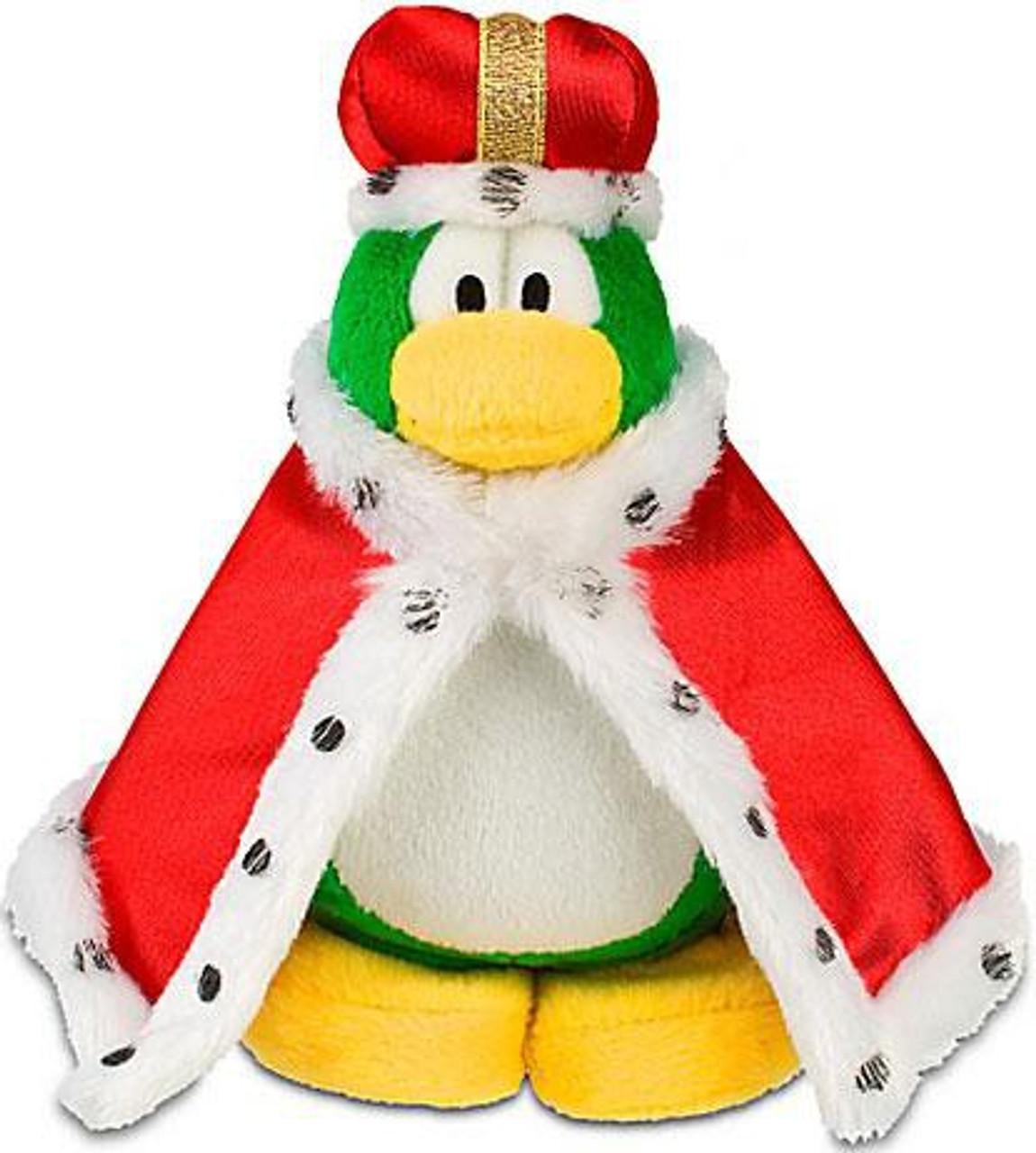 Club Penguin Series 11 King Roi 6.5-Inch Plush Figure [Version 2]