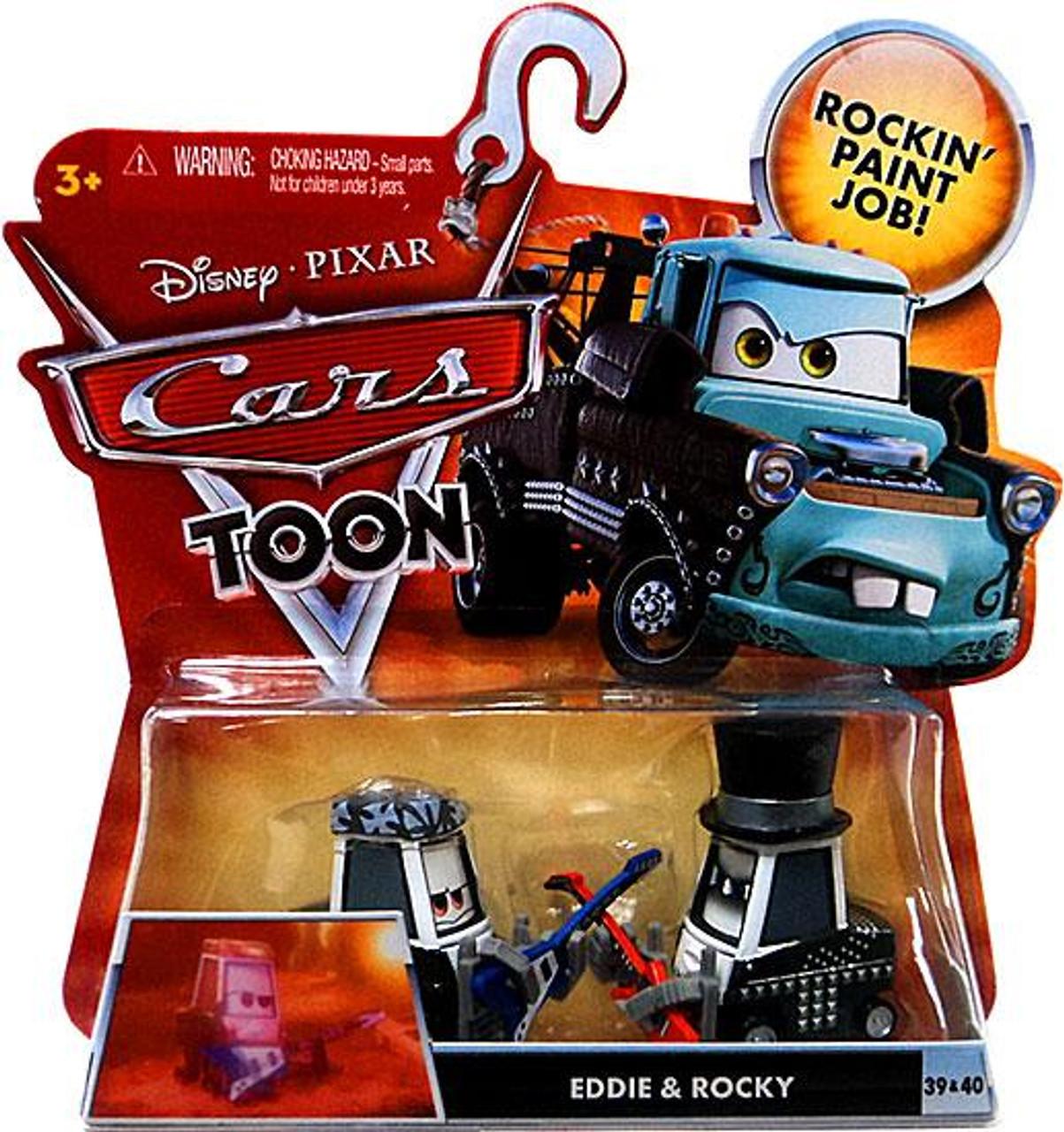 Disney Cars Cars Toon Main Series Eddie Rocky 155 Diecast