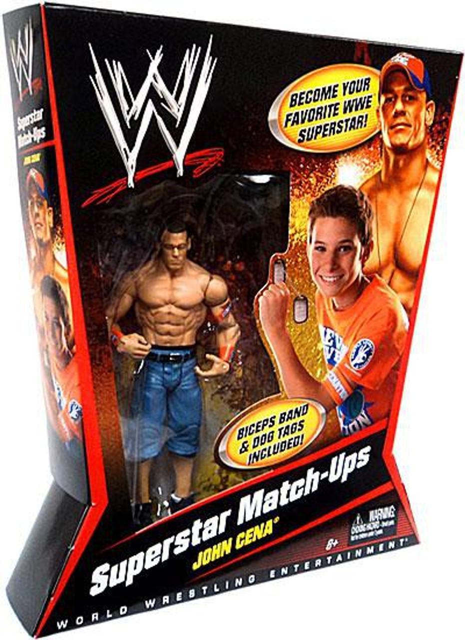 WWE Wrestling Superstar Match-Ups John Cena Action Figure