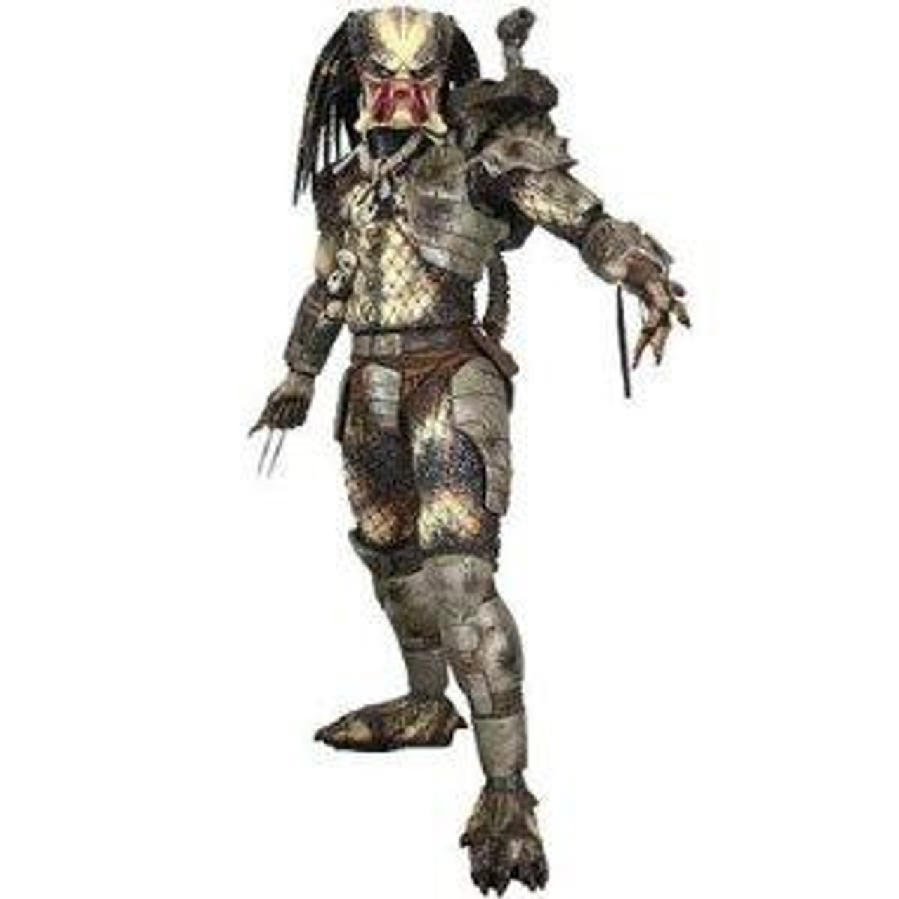 NECA Quarter Scale Classic Original Predator Action Figure [Open Mouth]
