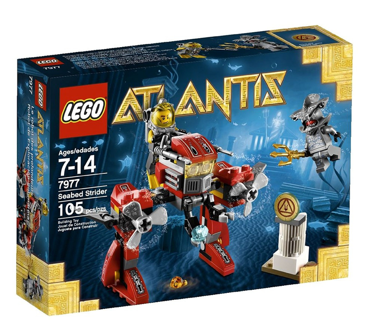 LEGO Atlantis Seabed Strider Set #7977