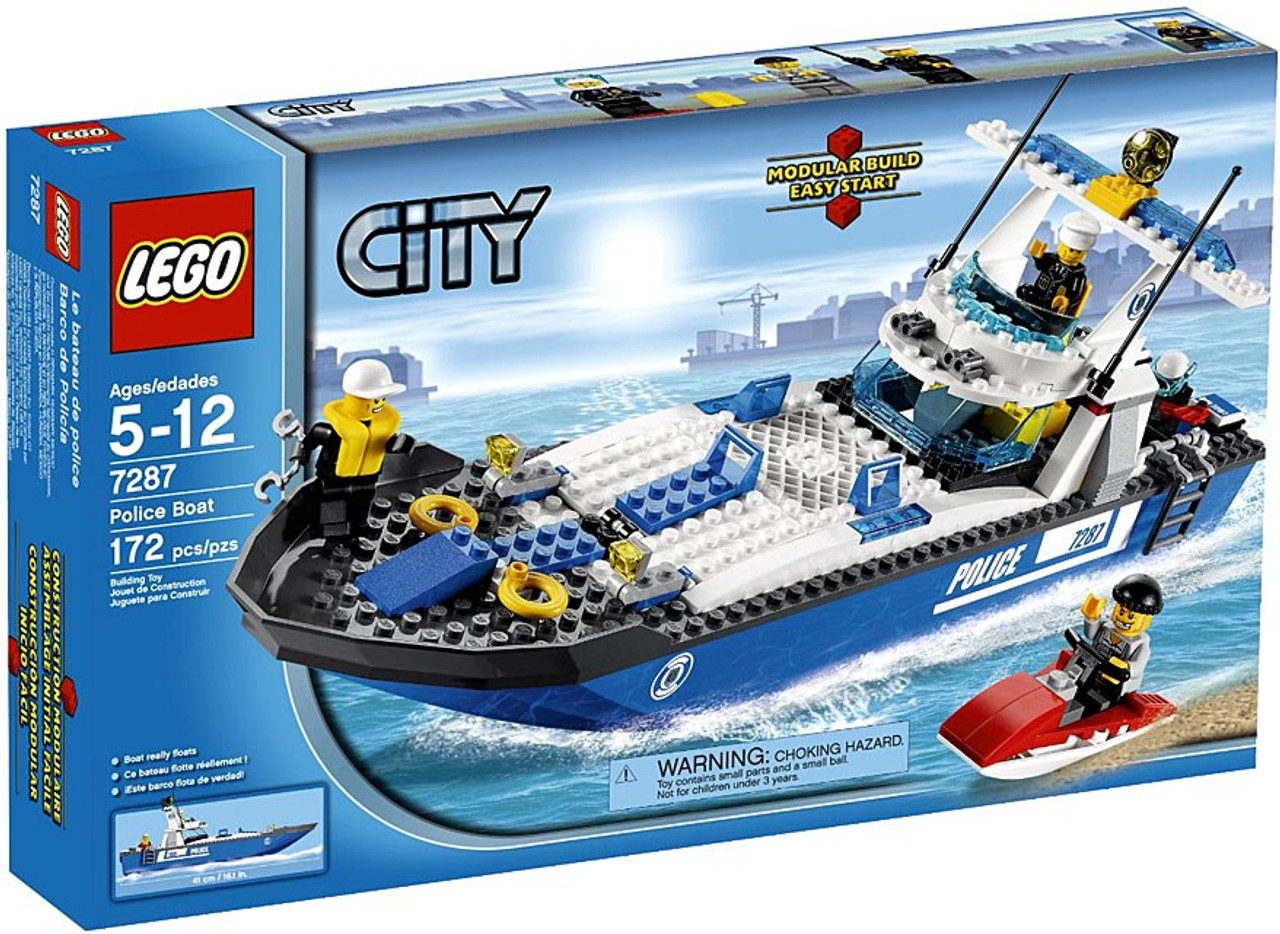 LEGO City Police Boat Set #7287