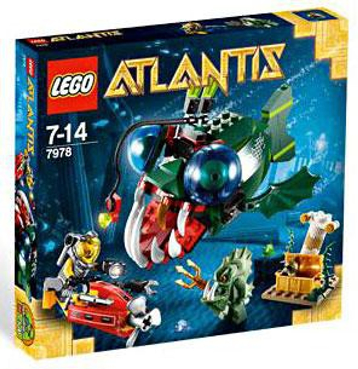 LEGO Atlantis Angler Attack Set #7978