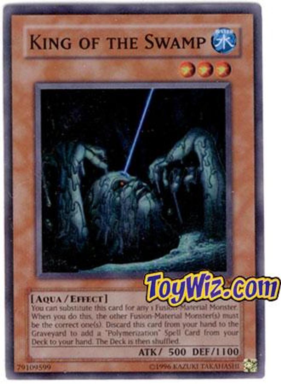 YuGiOh Hobby League Super Rare King of the Swamp HL1-EN006