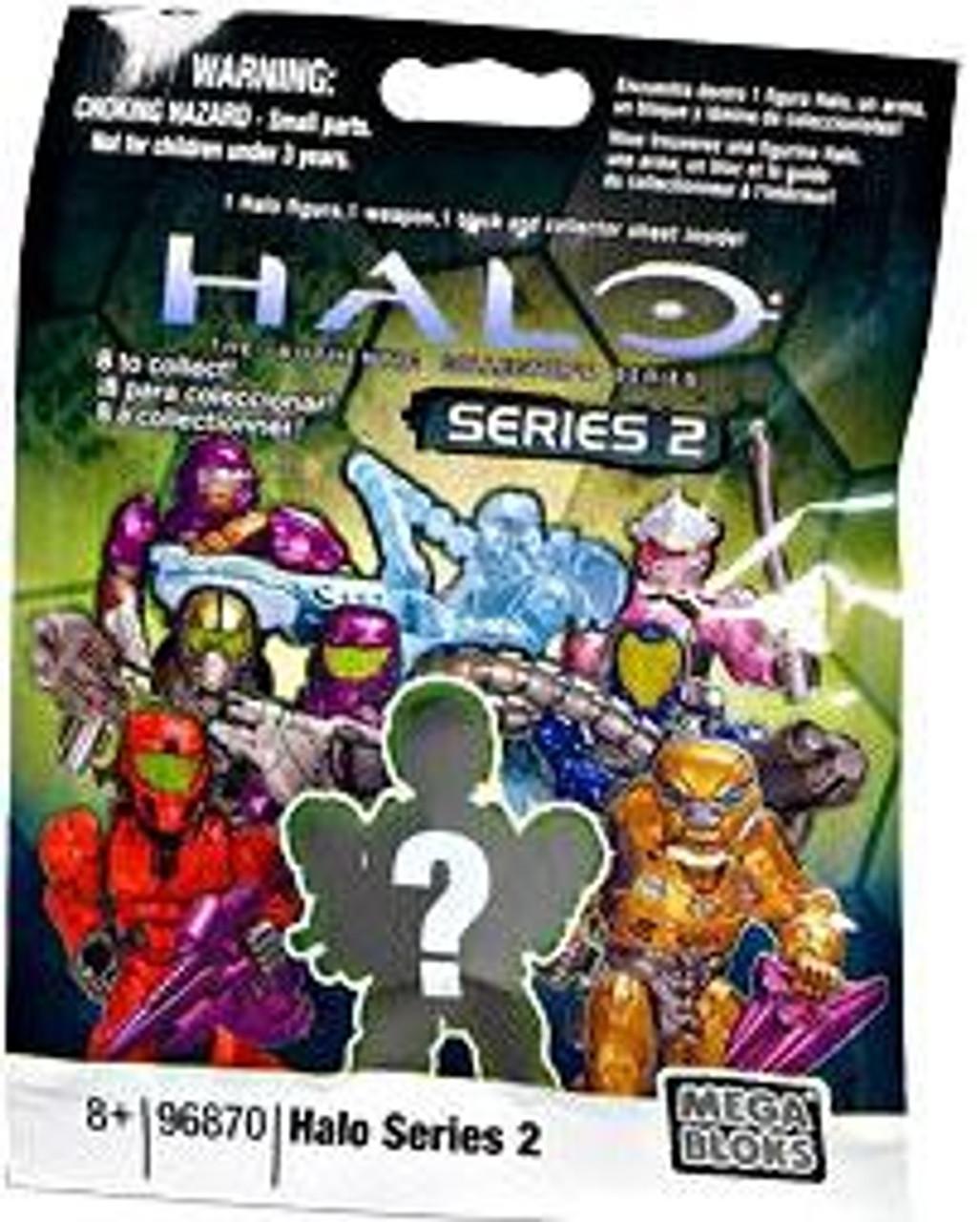 Mega Bloks Halo Series 2 Minifigure Mystery Pack #96870-2