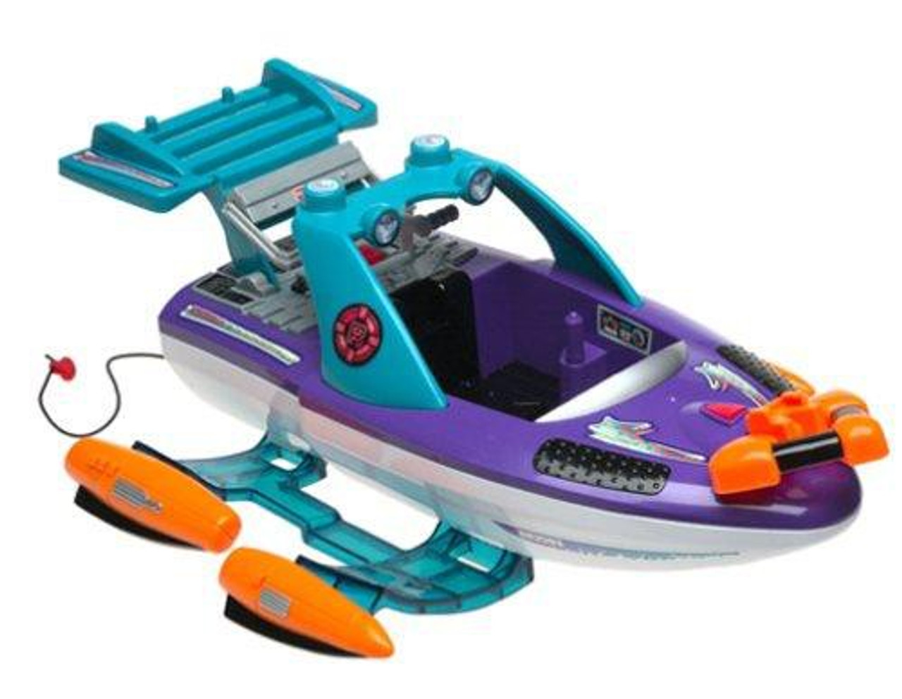Fisher Price Rescue Heroes Quick Response Hydrofoil Toy Vehicle