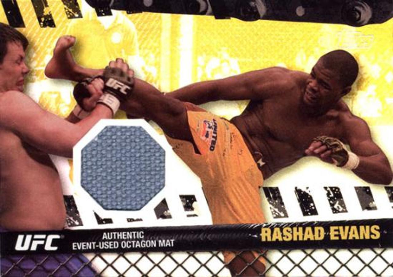 UFC 2010 Championship Fight Mat Relic Rashad Evans FM-RE