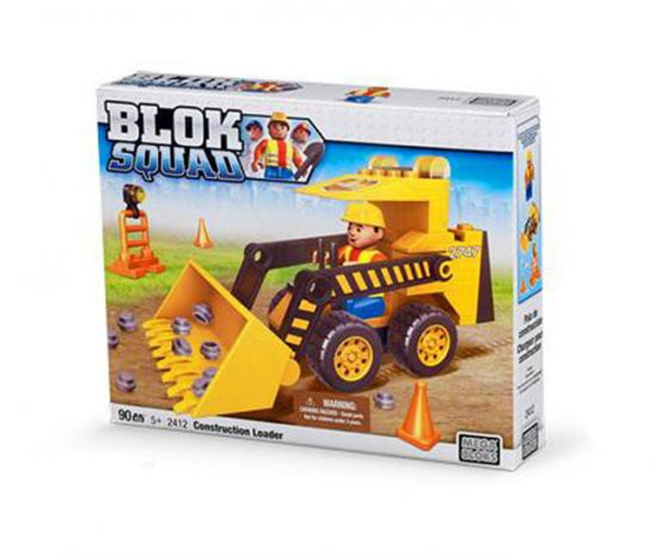Mega Bloks Blok Squad Construction Loader Set #2412