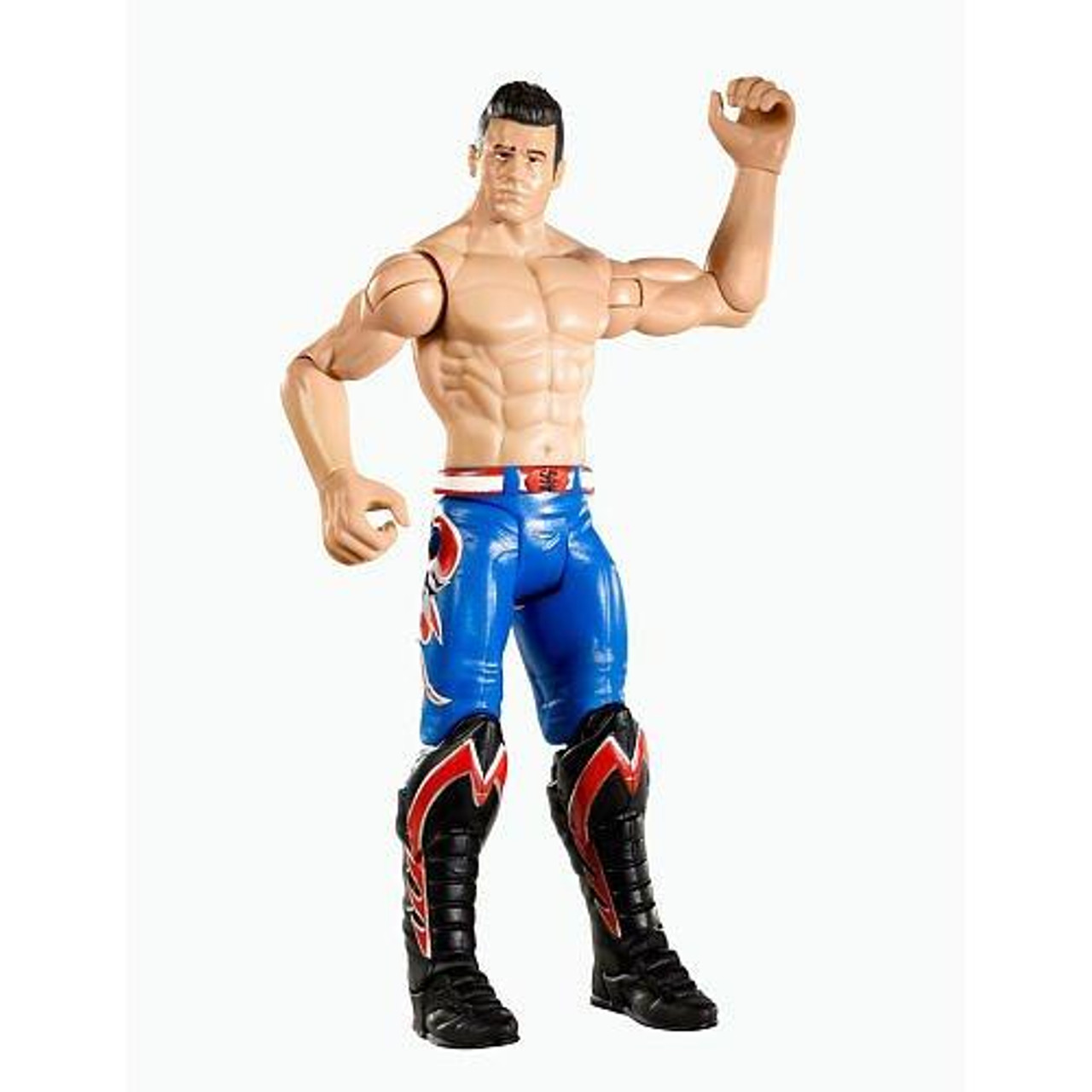 WWE Wrestling FlexForce Series 1 Flip Kickin' Evan Bourne Action Figure
