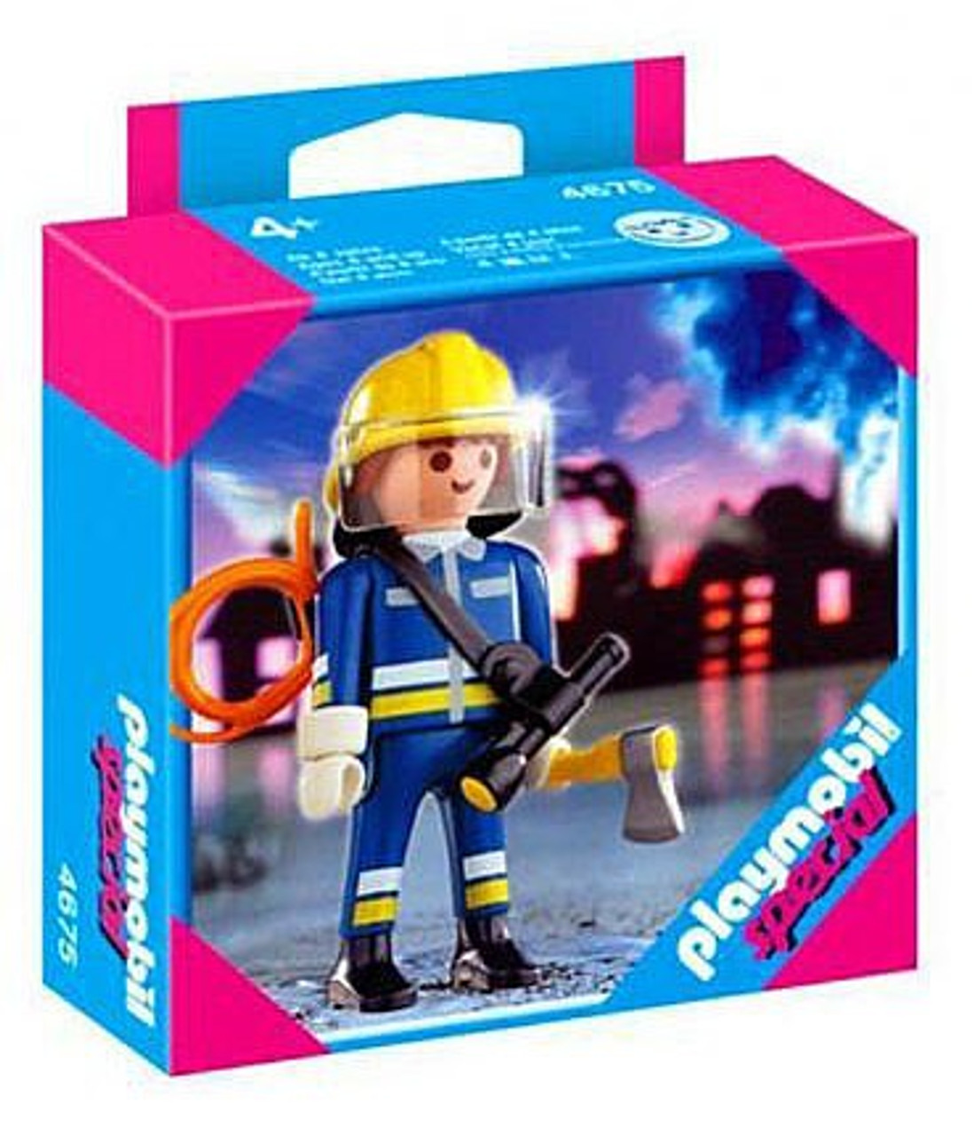Playmobil Special Fireman Set #4675
