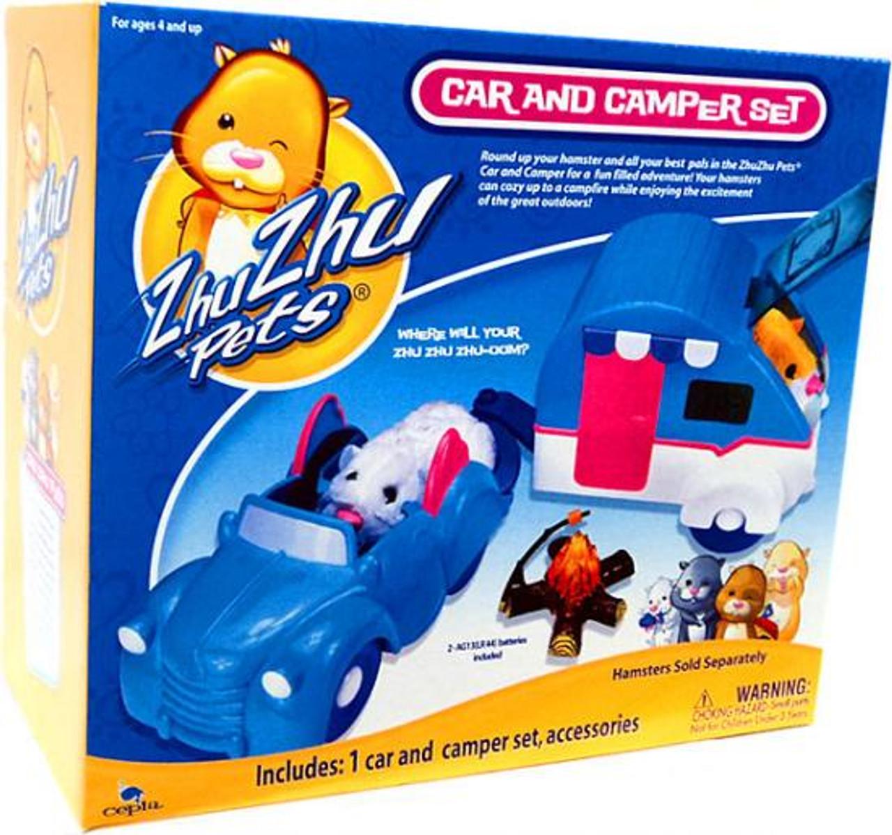 Zhu Zhu Pets Car & Camper Set Playset
