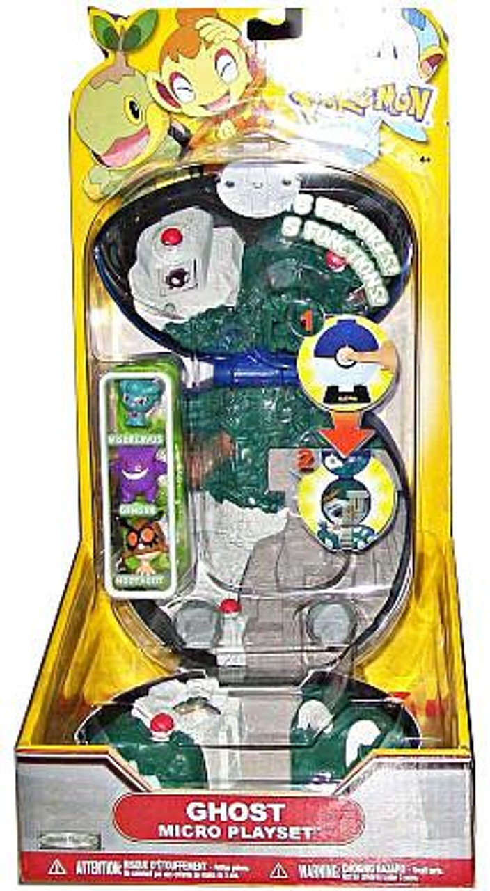 Pokemon Deluxe Micro Ghost Playset