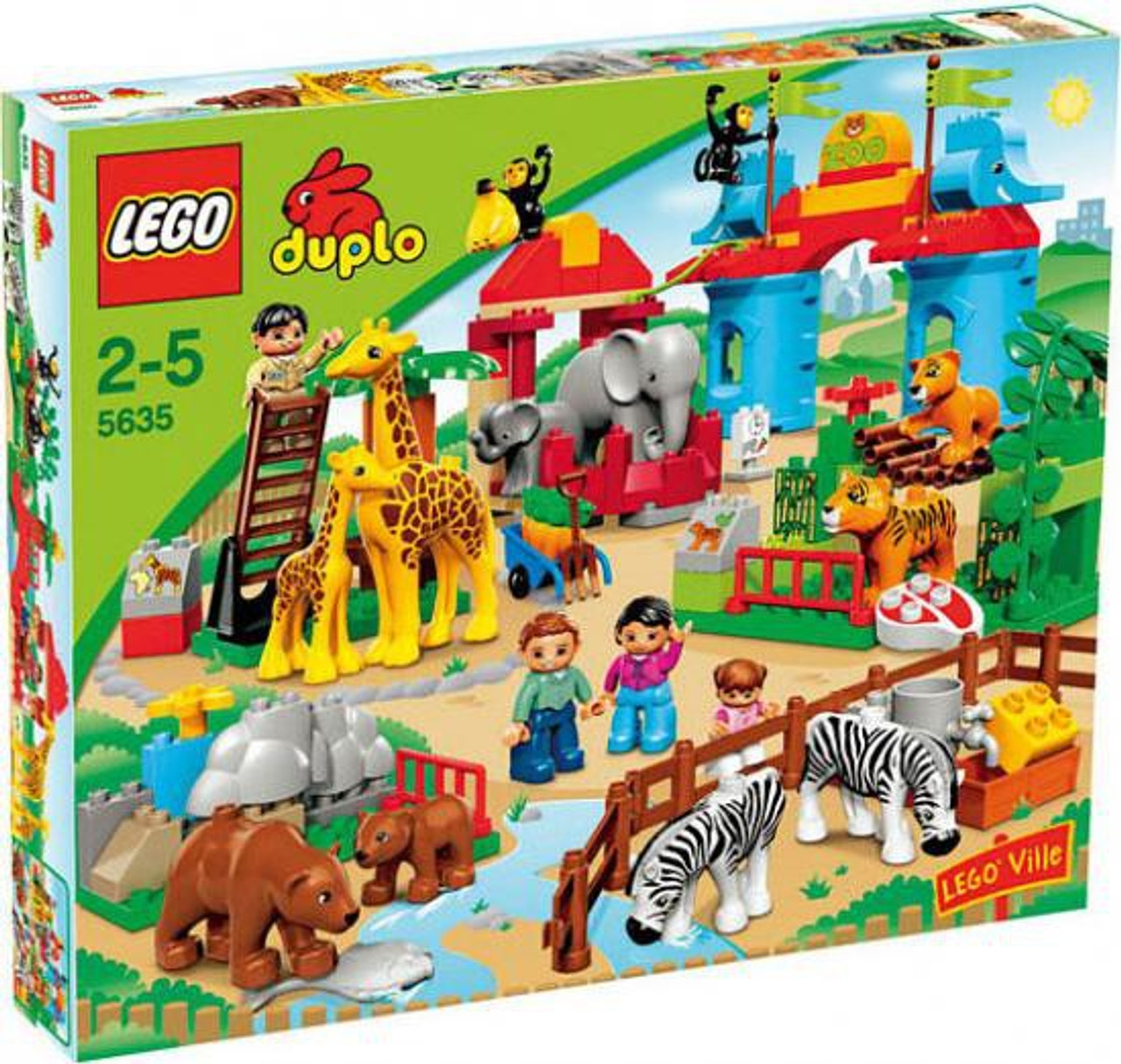 Duplo Lego Ville Big City Zoo Set #5635