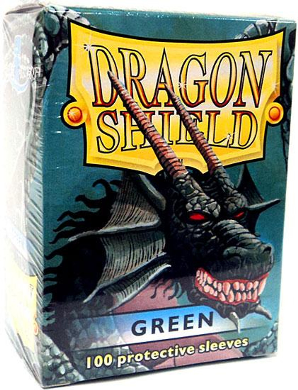 Card Supplies Dragon Shield Green Standard Card Sleeves [100 ct]