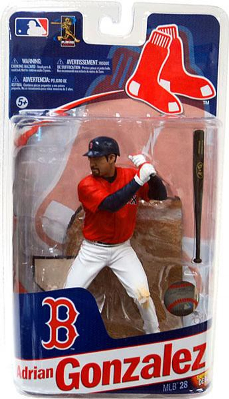 McFarlane Toys MLB Boston Red Sox Sports Picks Series 28 Extended Adrian Gonzalez Action Figure