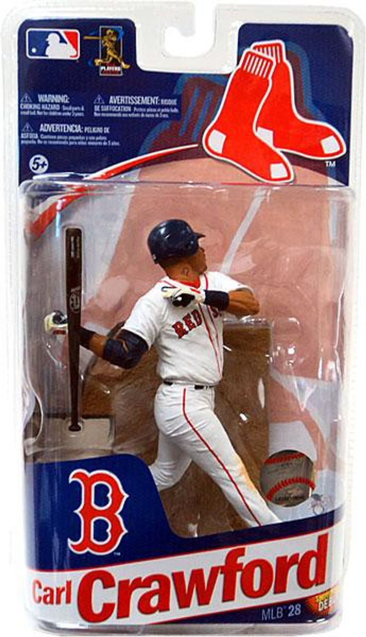 McFarlane Toys MLB Boston Red Sox Sports Picks Series 28 Extended Carl Crawford Action Figure