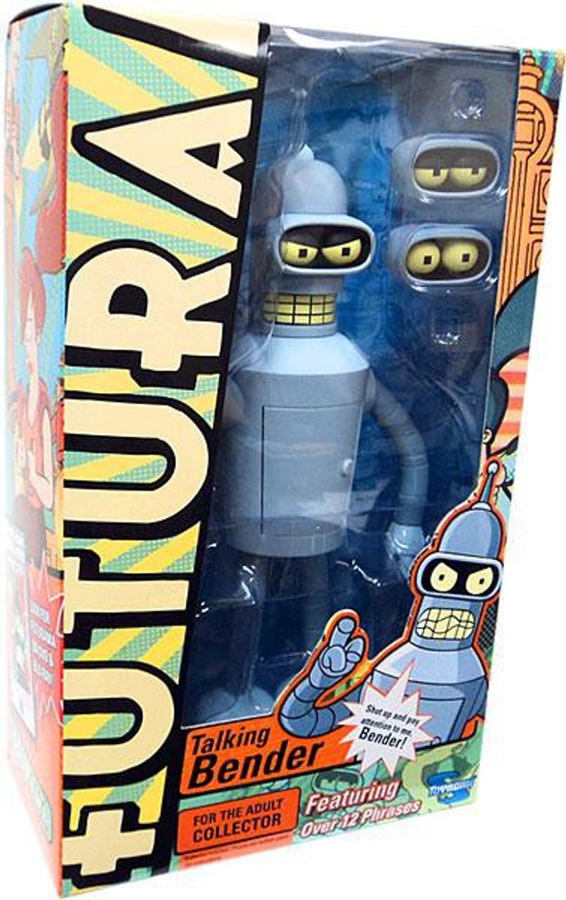 Futurama Bender Action Figure [Talking]