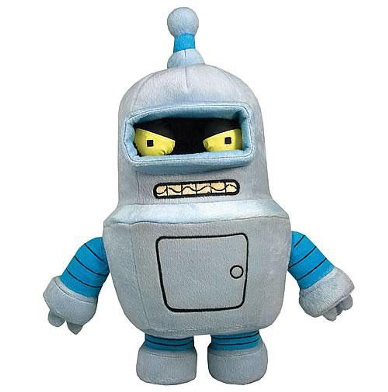 Futurama Deluxe Series 1 Bender 10-Inch Plush Figure