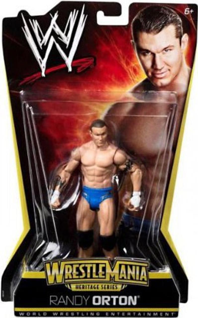 WWE Wrestling WrestleMania Heritage Series 2 Randy Orton Action Figure