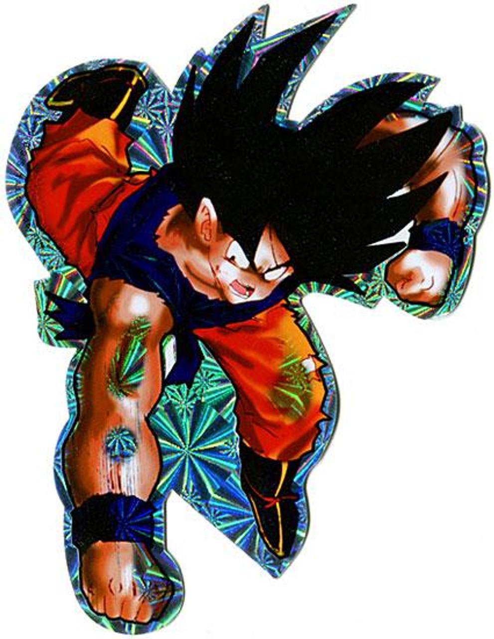 Dragon Ball Z Goku Sticker [Battle Damaged]