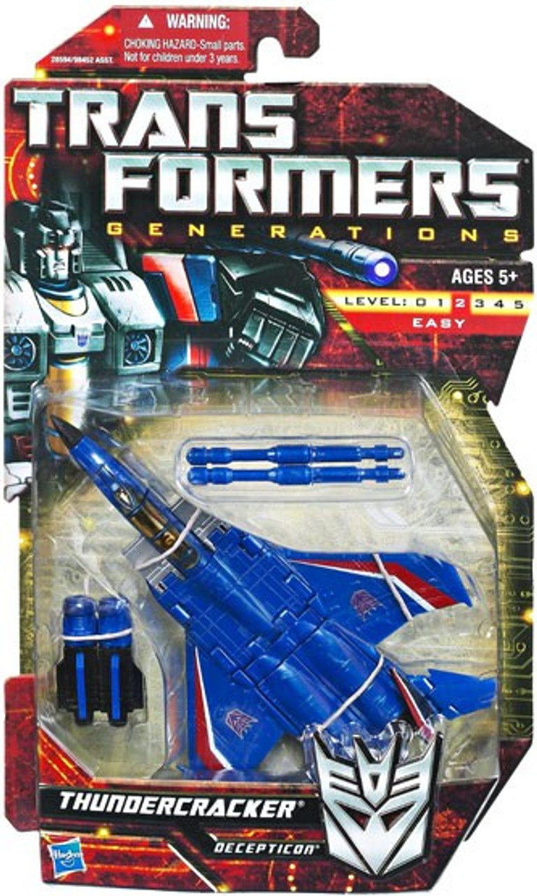 Transformers Generations Deluxe Thundercracker Deluxe Action Figure