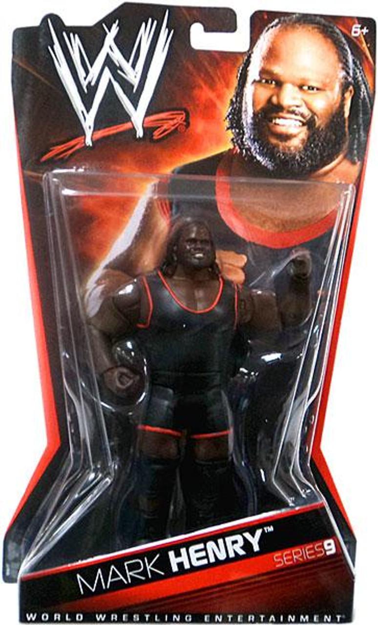 WWE Wrestling Series 9 Mark Henry Action Figure