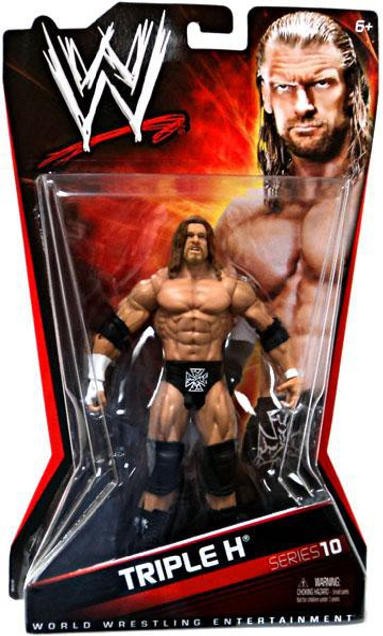 WWE Wrestling Series 10 Triple H Action Figure