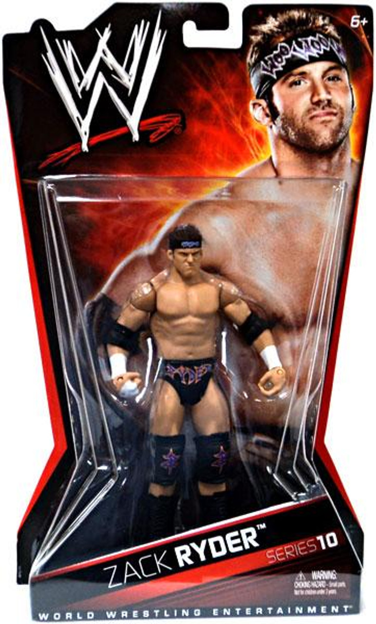 WWE Wrestling Series 10 Zack Ryder Action Figure