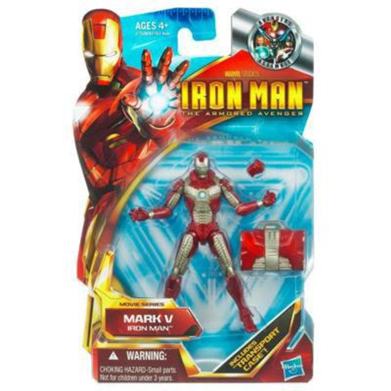 The Armored Avenger Movie Series Iron Man Mark V Action Figure