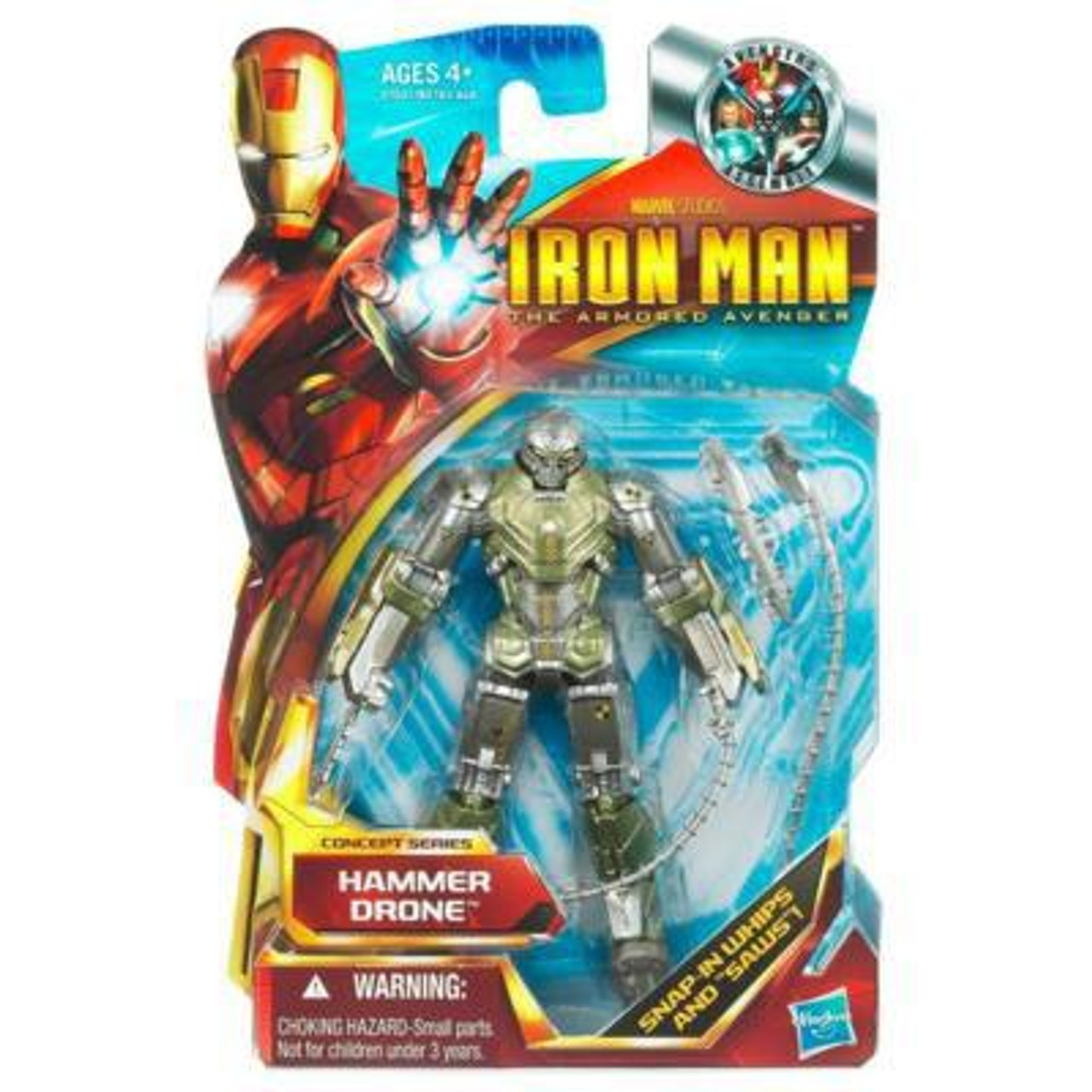 Iron Man The Armored Avenger Movie Series Hammer Drone Action Figure #44
