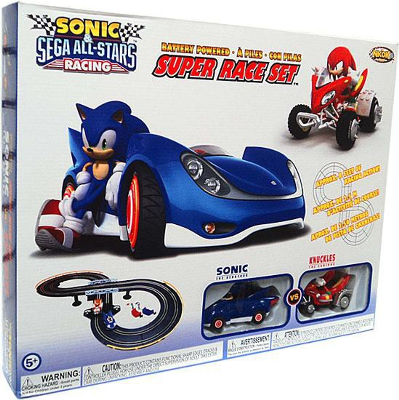 Sonic The Hedgehog Sega All-Stars Racing Super Race Set