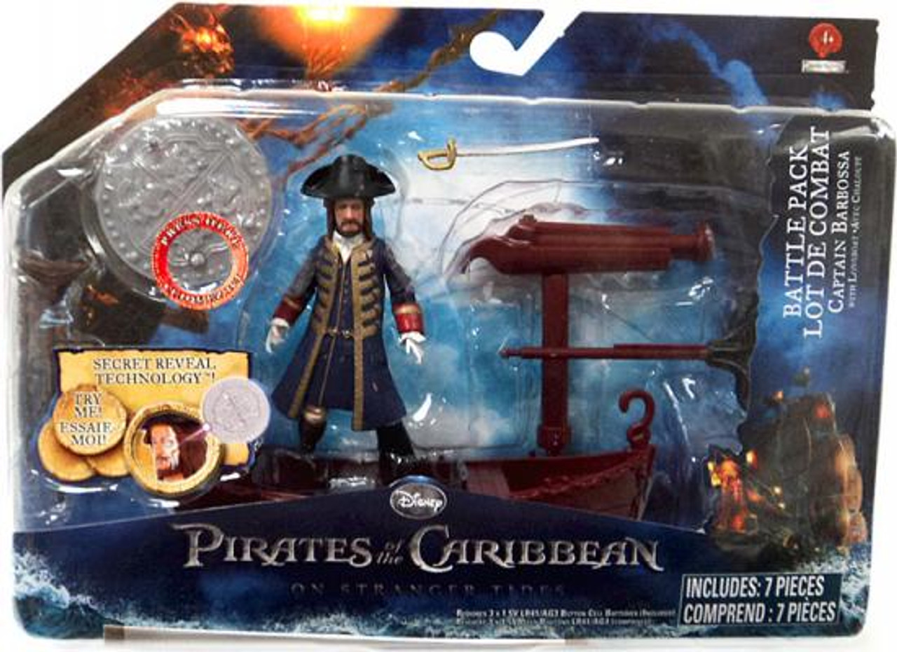 Pirates of the Caribbean On Stranger Tides Battle Pack Captain Barbossa Action Figure Pack
