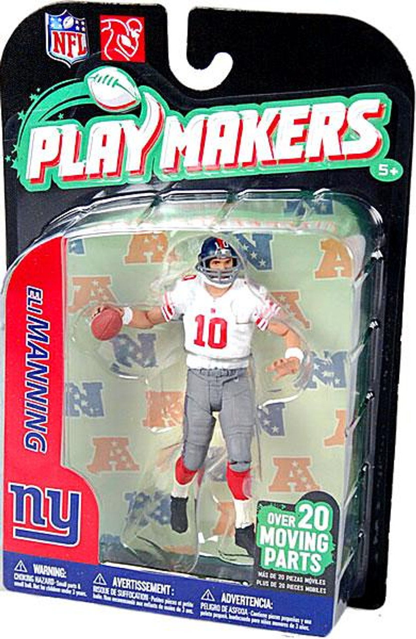 McFarlane Toys NFL New York Giants Playmakers Series 2 Eli Manning Action Figure