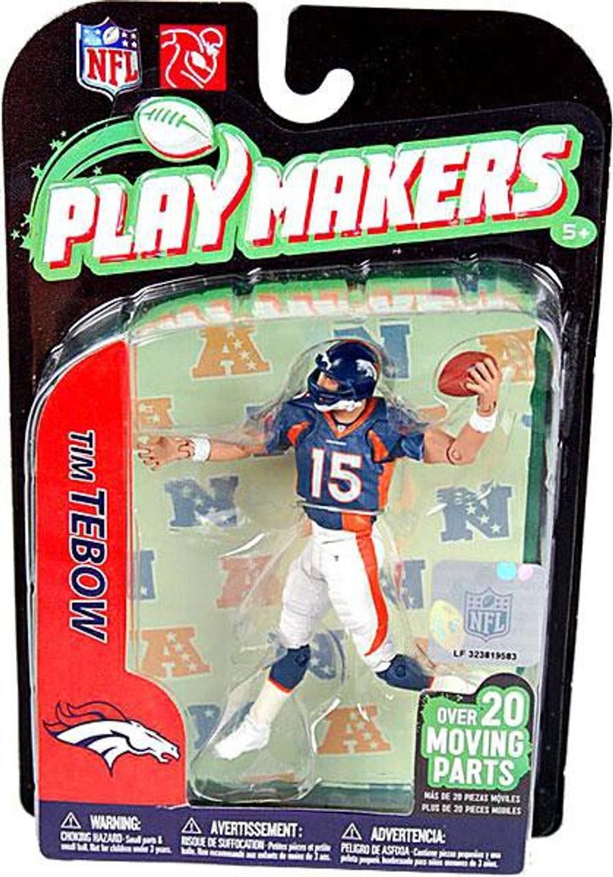 McFarlane Toys NFL Denver Broncos Playmakers Series 2 Tim Tebow Action Figure