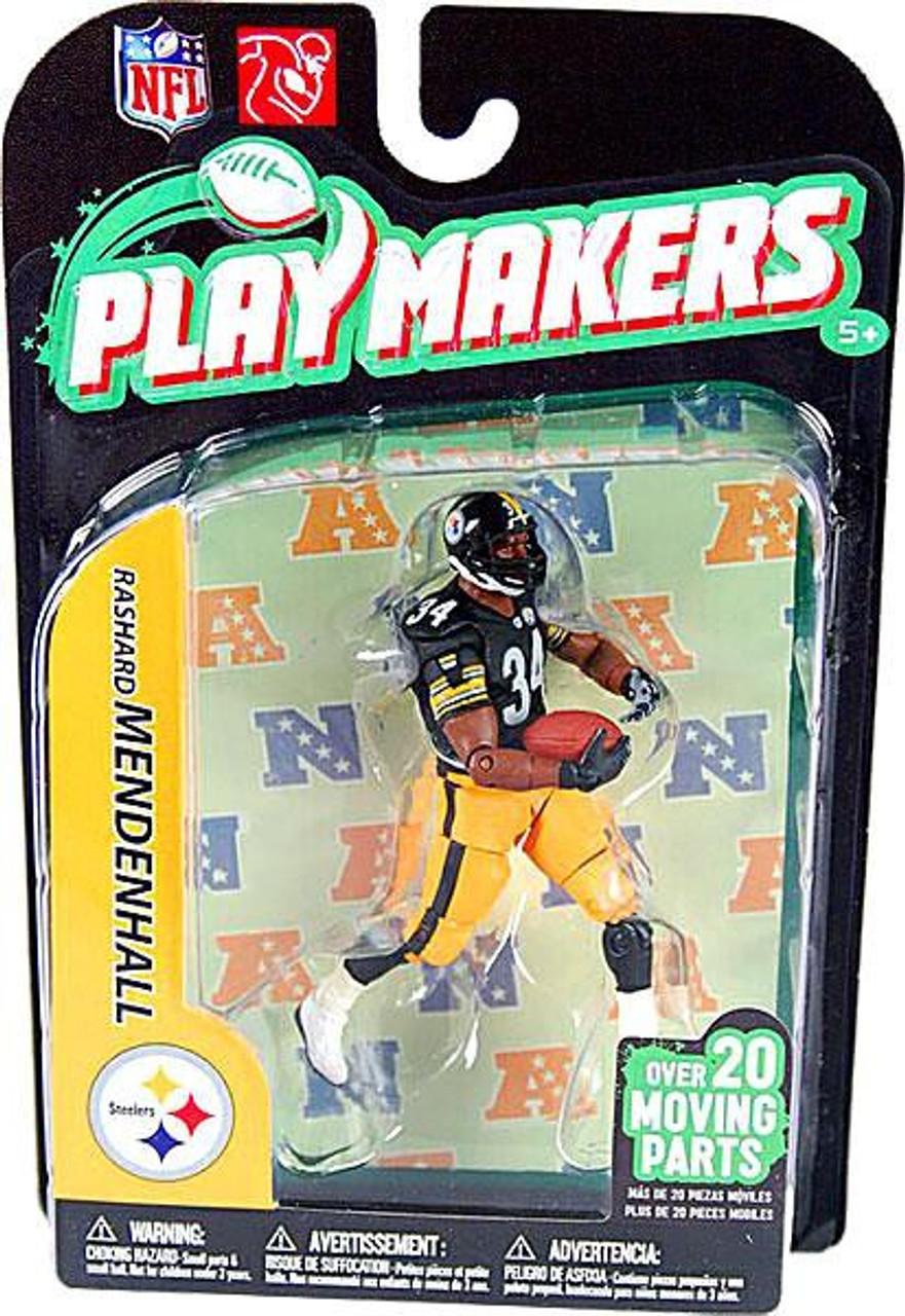 McFarlane Toys NFL Pittsburgh Steelers Playmakers Series 2 Rashard Mendenhall Action Figure