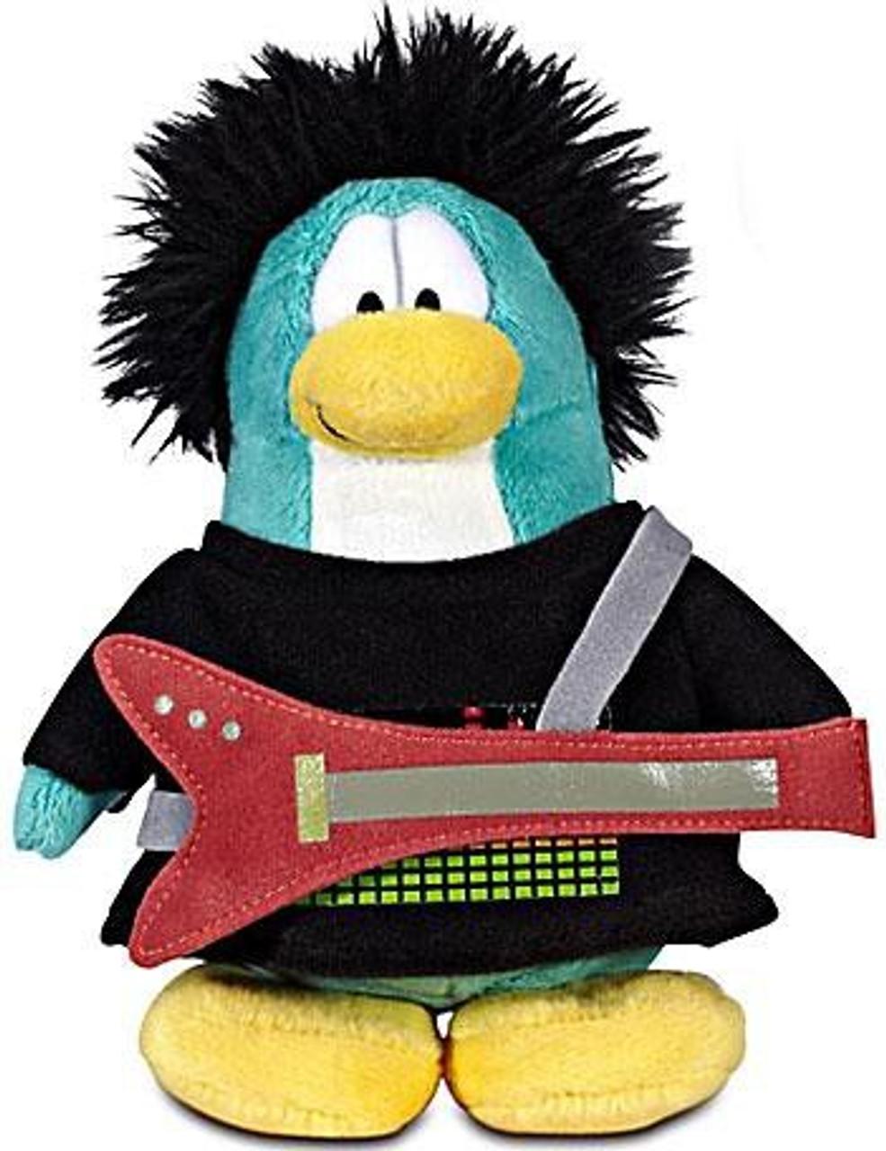 Club Penguin Series 12 New Rocker 6.5-Inch Plush Figure