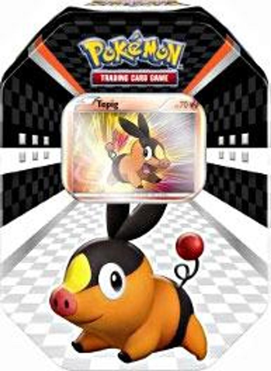 Pokemon Black & White Spring 2011 Sneak Peek Tepig Collector Tin